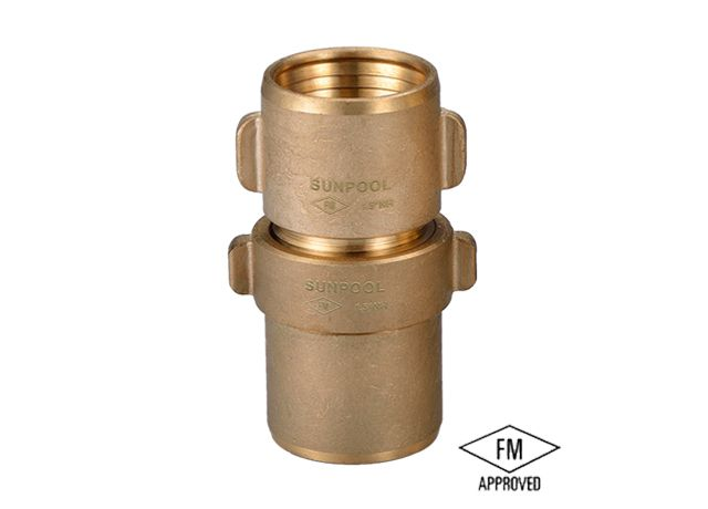 1.5 FM Brass Fire Hose Coupling