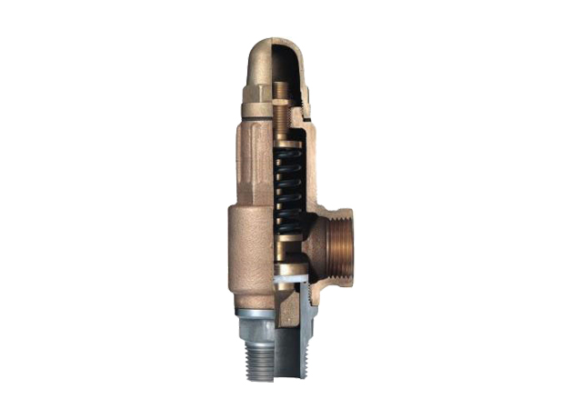 L3SP Bronze Safety Valve with PTFE Seal & SS Seat