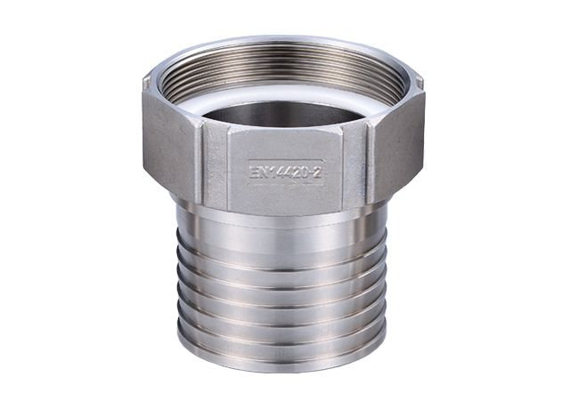EN14420-5 GI fitting - Serrated